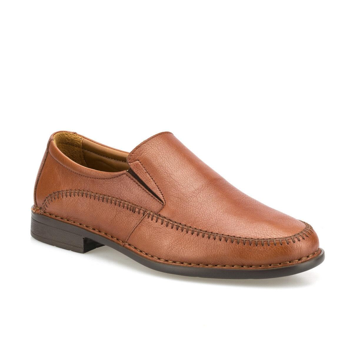 FLO 102025.M Tan Men 'S Classic Shoes Polaris 5 Point