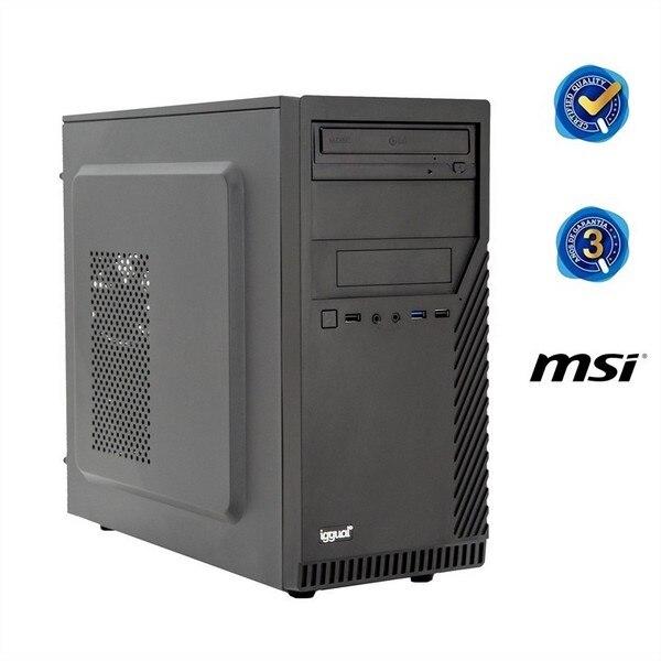 Desktop PC Iggual PSIPCH41 I5-8400 8 GB RAM Black