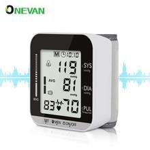 Sağlık tansiyon aleti elektronik bilek Tensiometro dijital tonometre metre ölçüm kan basıncı ve nabız oranı tansiyon aleti