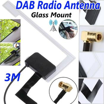 Universal DAB Digital Car Radio Antenna Aerial SMB Window Glass Screen Mount And FM Aerial Antenna