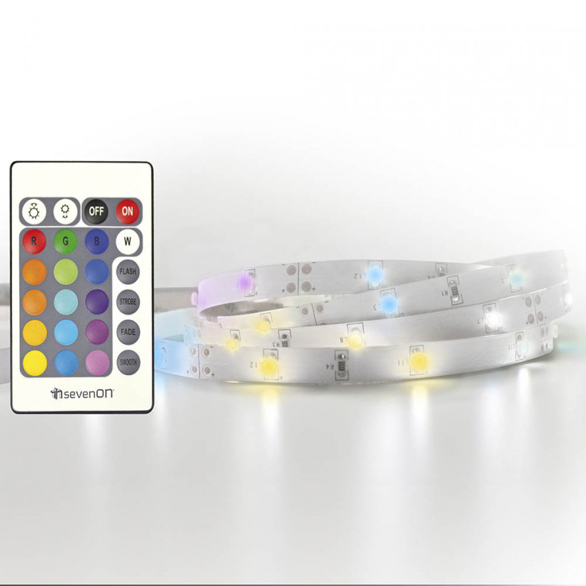 Extension LED Strip RGB 1m IP20 6W 7hSevenOn