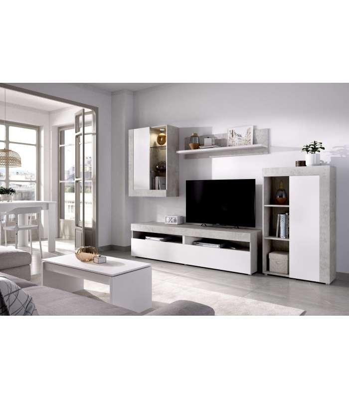 Furniture Lounge Tokyo Cement/White.