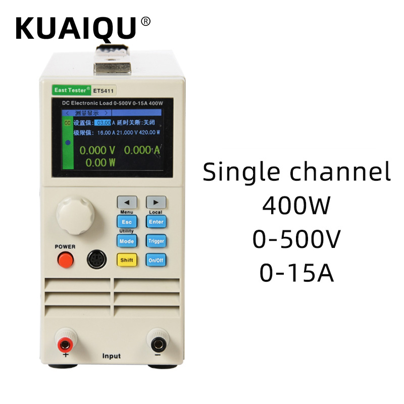 Электронный тестер нагрузки аккумулятора, 500 В, 15 А, 400 Вт Тестеры аккумуляторов    АлиЭкспресс