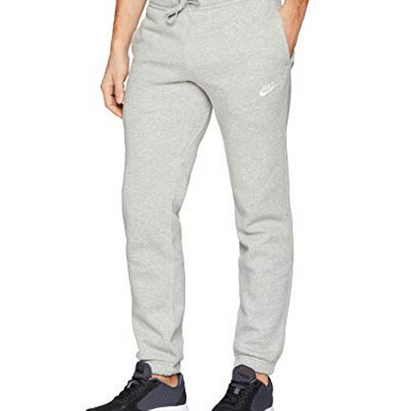Adult's Tracksuit Bottoms Nike Nsw Pant Cf Flc Club Grey