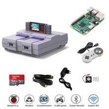 Retroflag vídeo de TV consolas de juego SUPERPi CASE U con Recalbox sistema Raspberry Pi 3B juego Retro jugador Bulit in 10000 + juegos