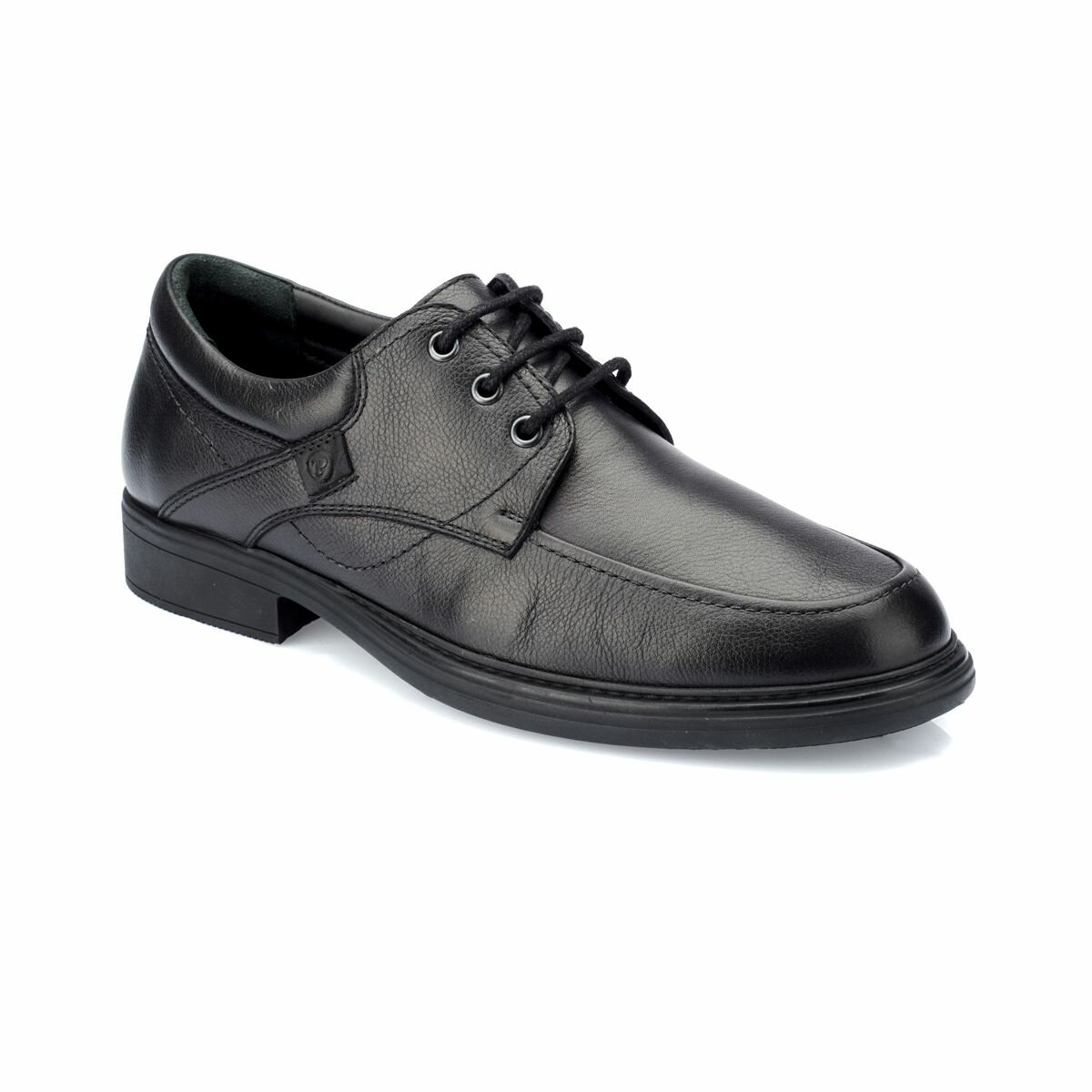FLO 82.100410.M Black Male Shoes Polaris 5 Point
