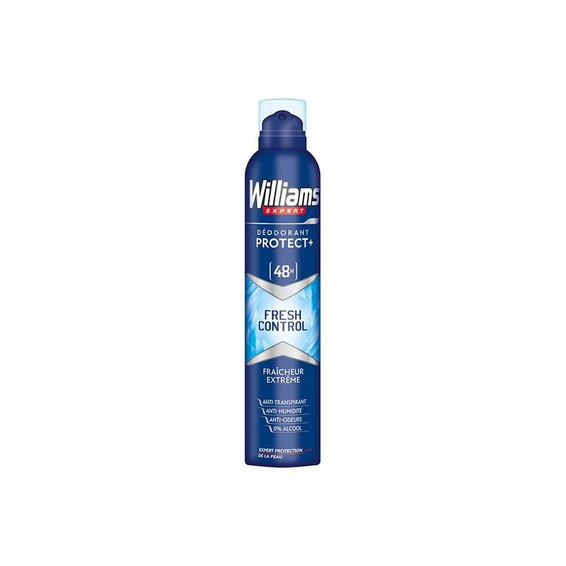Deodorant Spray Fresh Checkpoint Williams (200 Ml)