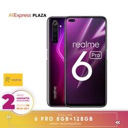 "[Official Spanish version warranty] Realme 6 pro Smartphone 6.6 "", 8 GB RAM  128 GB ROM, octaCore processor Snapdragon 720G"