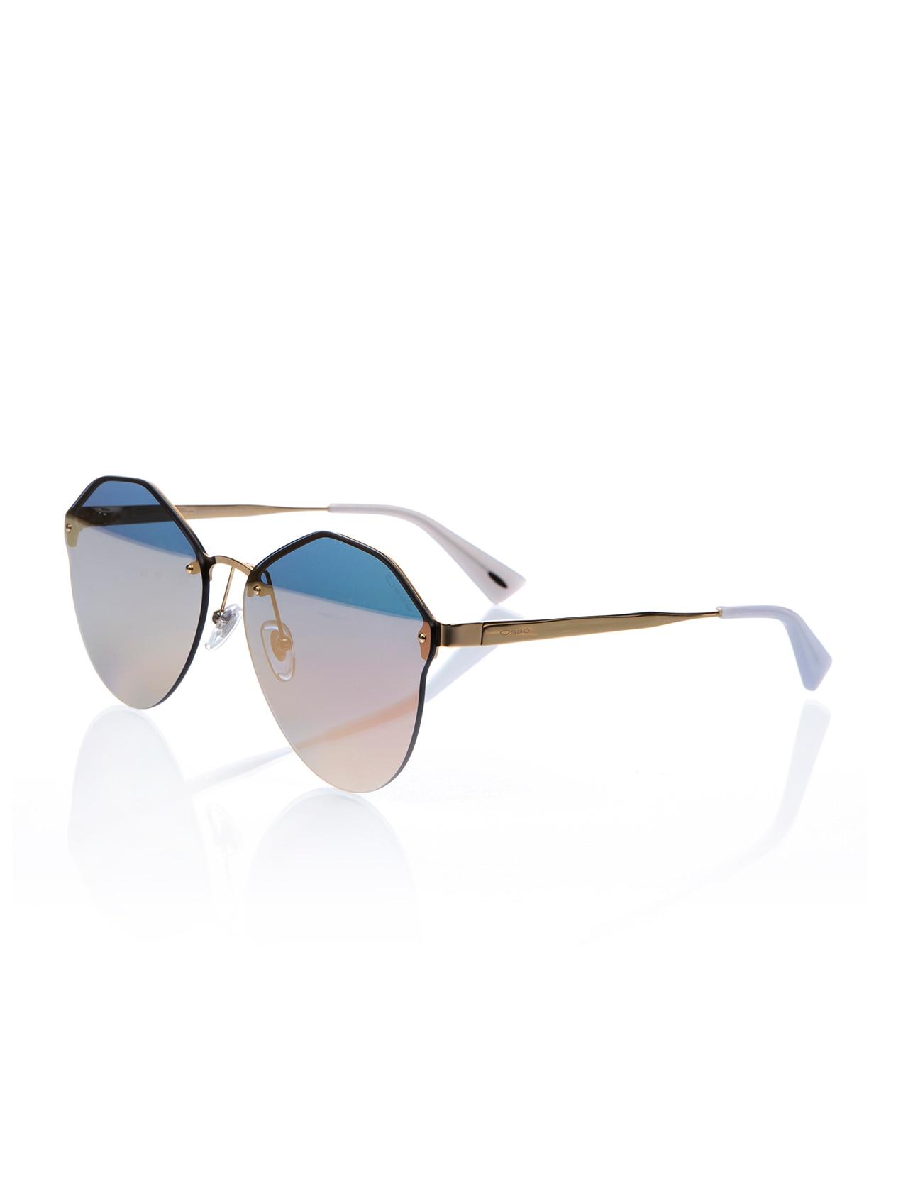 Women's sunglasses os 2674 05 metal gold organic drop aval 59-15-140 osse