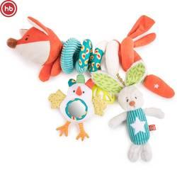 330664, jouet de développement spirale heureux bébé renard Lusya, multicolore