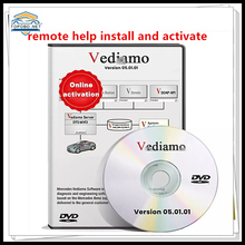 For MB STAR C4 SD C5 Offline Programming By-pass TIPS Vediamo 5.01.01 Engineering Software SCN VEDOC CODING