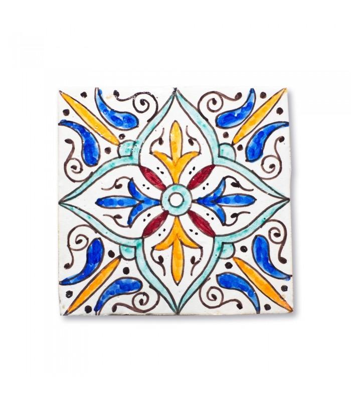 Azulejo Andalusí - 14,5 cm - Handmade - Model 2
