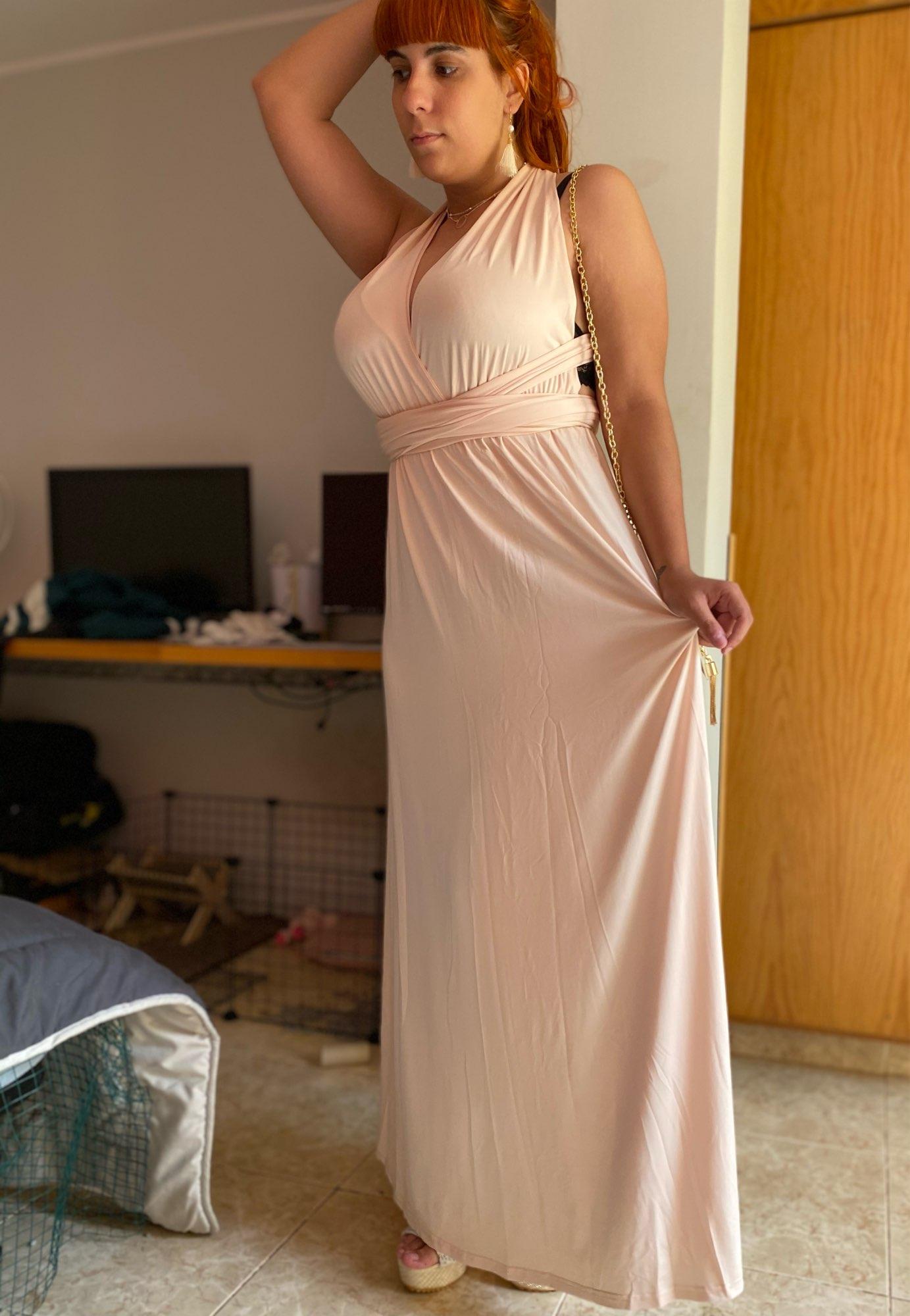 Sexy Women Multiway Wrap Convertible Boho Maxi Club Red Dress Bandage Long Dress Party Bridesmaids Infinity Robe Longue Femme|Dresses|   - AliExpress