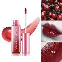1 шт., 6 видов цветов для макияжа с горячими губами, жидкая губная помада, зеркальная поверхность, блеск для губ, стойкая увлажняющая антипригарная чашка, глазурь для губ, TSLM2