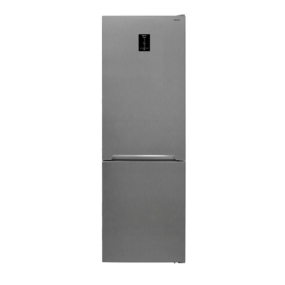 Refrigerator Combi Sauber Sc185I Nofrost A + + High 185 Cm Wide 60 Cm Inox