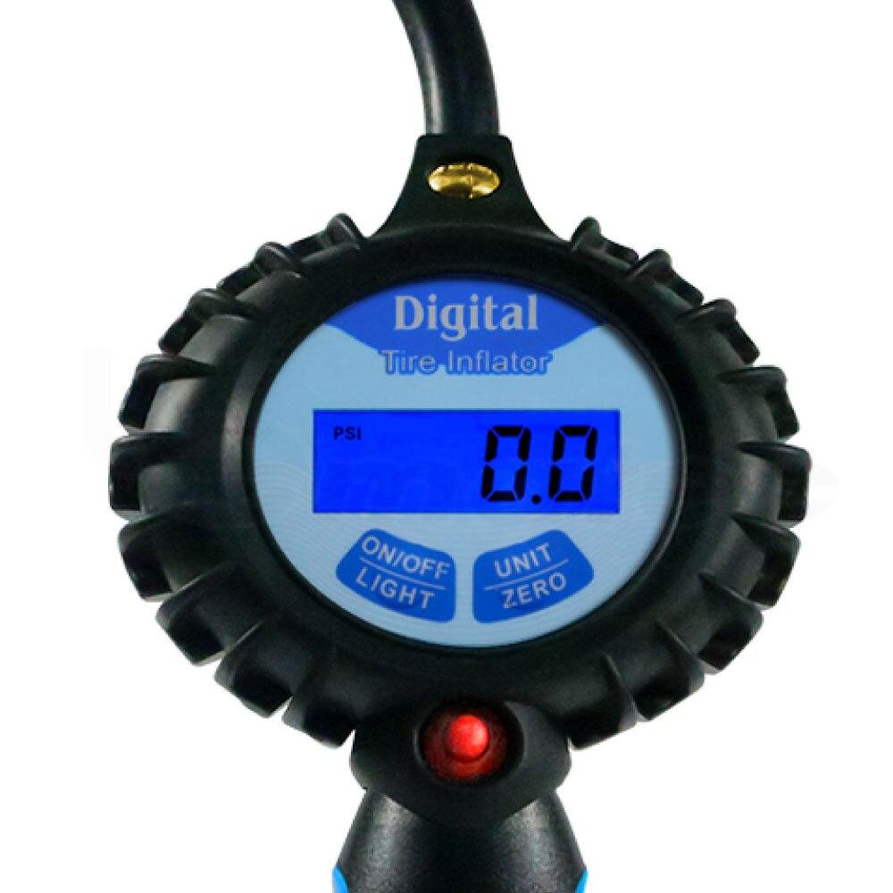 CE Pro Inflador de neumáticos digital con medidor de luz de fondo - Accesorios para herramientas eléctricas - foto 5
