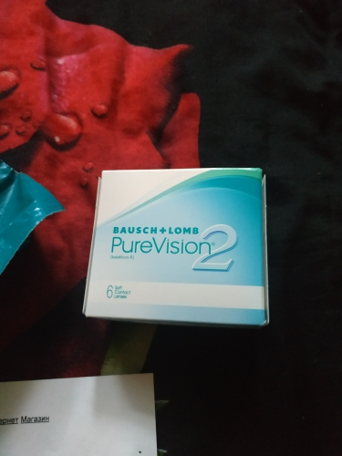 Contact Lenses Bausch+Lomb PureVision 2 HD  526 eye lens vision correction linsa-in Contact lenses from Beauty & Health on AliExpress