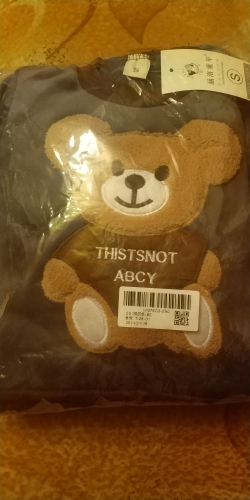 Cute 3D Bear Super Soft Baby Clothe  Pattern For Fall And Winter photo review