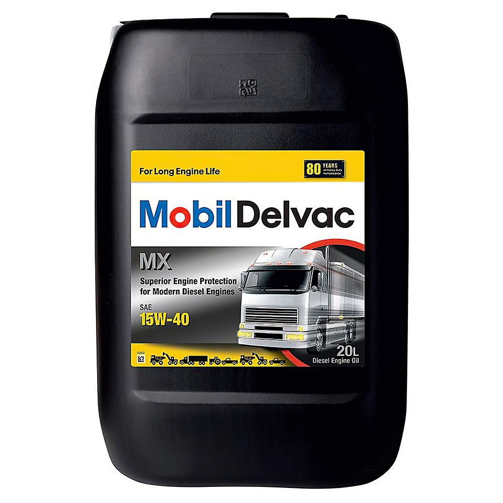 Моторное масло MOBIL DELVAC MX 15W40 20L (152737)