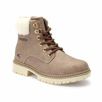 FLO HOWIT kolor piaskowy męskie buty dziecięce KINETIX tanie i dobre opinie ALLIGATOR Korka Chłopcy