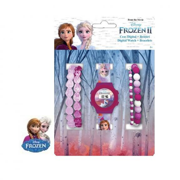 FROZEN 2 SET DIGITAL Watch + 4 bracelets 3MODELO AURTIDOS