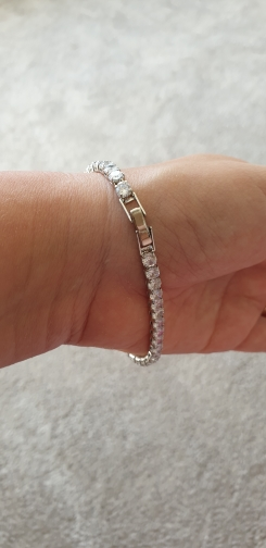 צמיד טניס יהלומים לאישה דגם 939 photo review