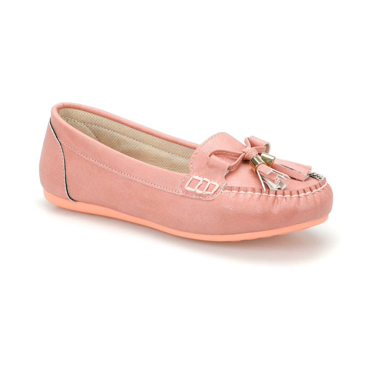 FLO DS19033 Powder Women 'S Loafer Shoes Miss F