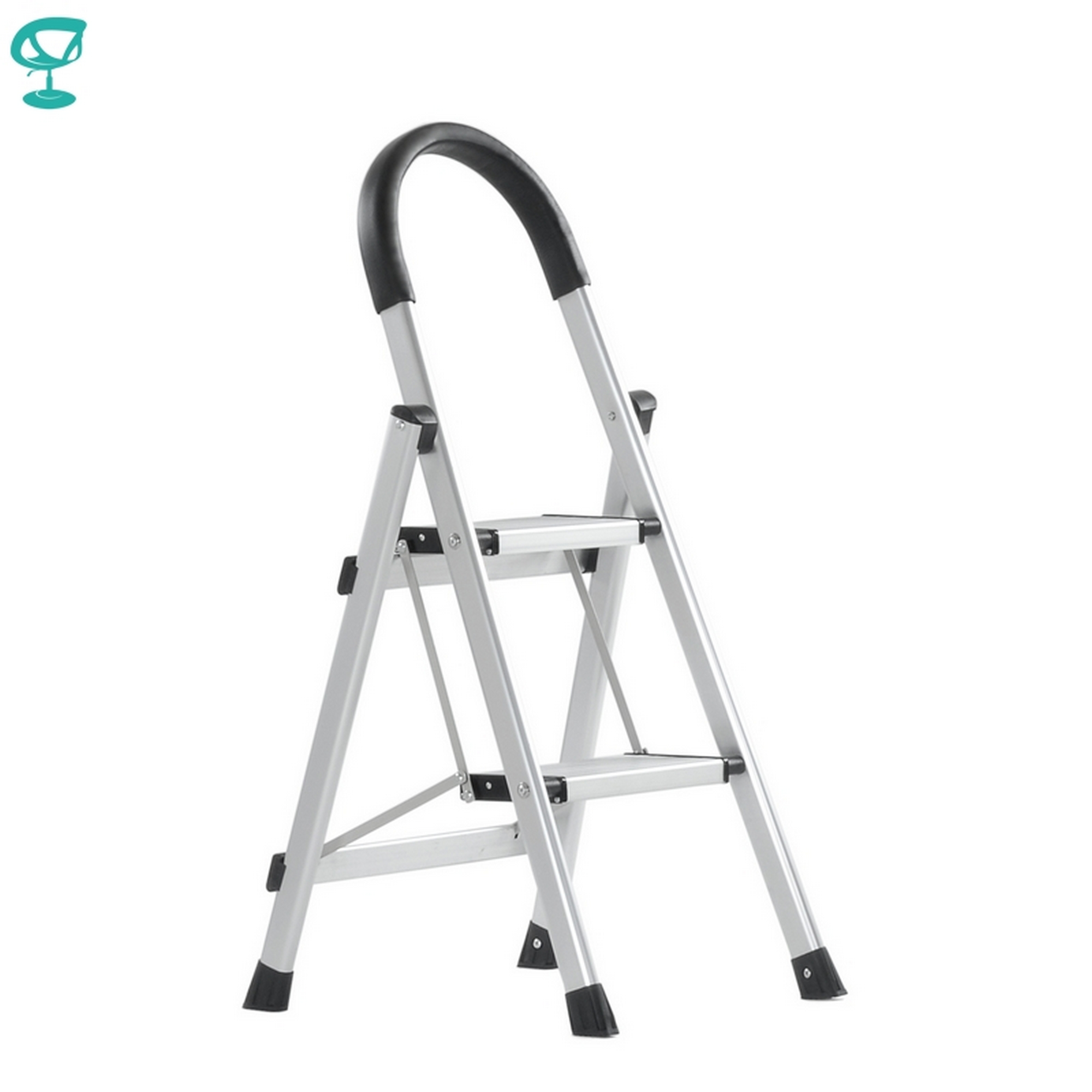 95673 Barneo St-22 Ladder Aluminum 2 Stage Single Side Max Load 150 Kg Free Shipping To Russia