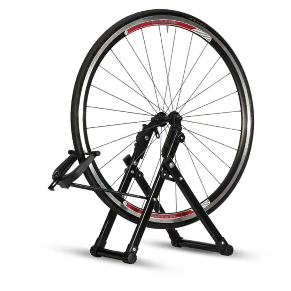 Roda de bicicleta truing carrinho mecânico casa truing suporte manutenção reparação ferramenta bicicleta acessórios para 24/26/28 polegada