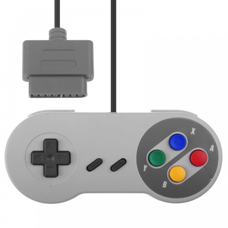 Super Controller Gamepad Joypad for Nintendo Super Famicom, Super NES, SF SNES FAITH