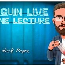2020 nick popa pinguim ao vivo on-line palestra truques de magia