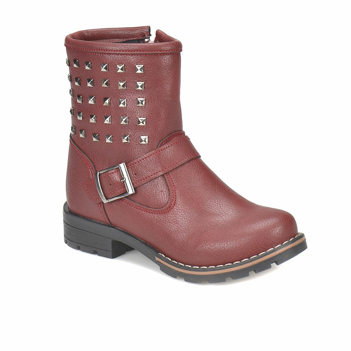 FLO NINA-3 Burgundy Female Child Boots PINKSTEP