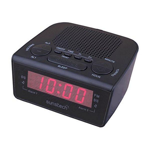 Часы-радио Sunstech FRD18BK черные