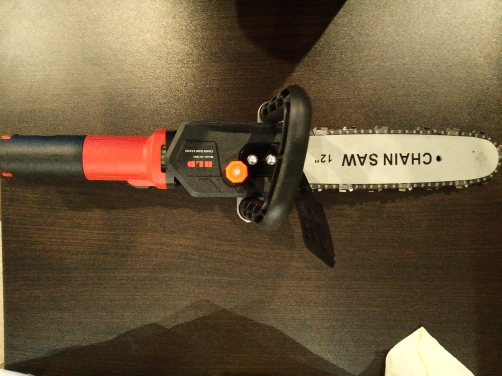 Electric Angle Grinder Adapter Chainsaw (12inch) photo review
