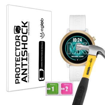 Screen protector Anti-Shock Anti-scratch Anti-Shatter compatible with Michael Kors Access MKGO