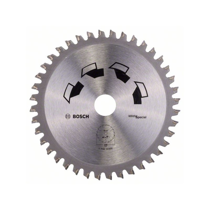 BOSCH-circulate Saw Blade SPECIAL D = 140 Mm