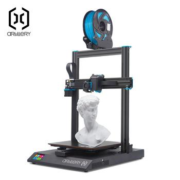 2020 Newest Artillery Sidewinder X1 SW-X1 3D Printer 300x300x400mm Large Plus Size High Precision Dual Z axis TFT Touch Screen