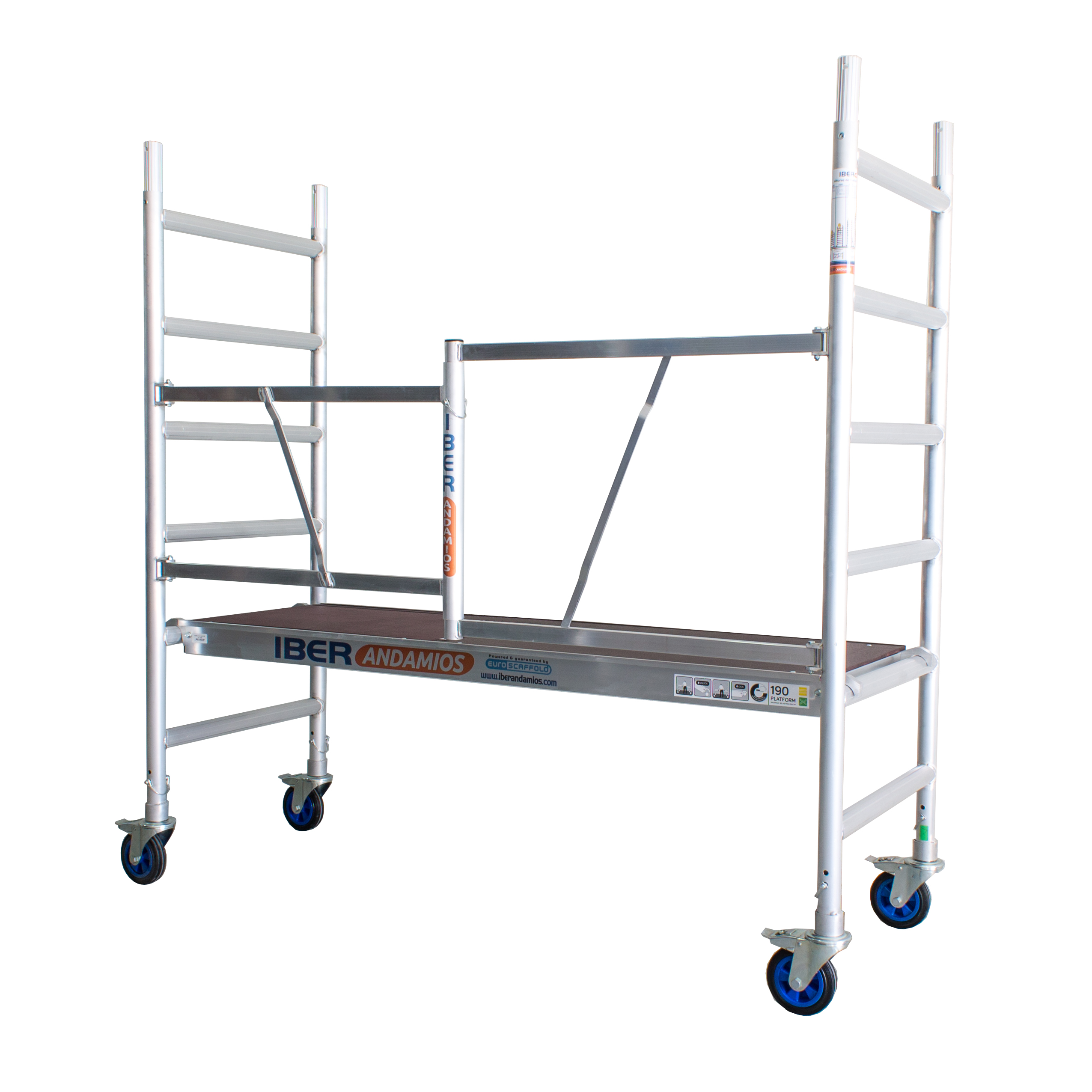 Scaffold Folding In Aluminum CT26 With Platform 190x75