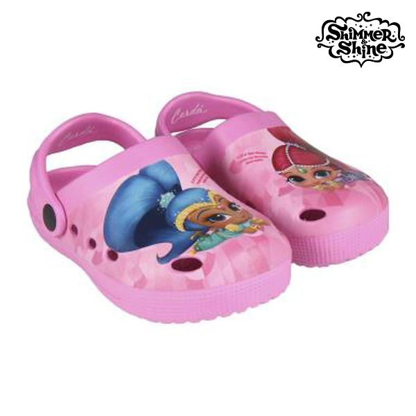 Beach Sandals Shimmer and Shine 73027 Pink|  - title=