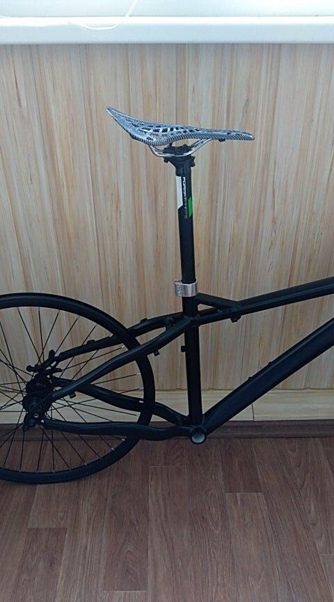 Banco de Carbono para Bicicleta CarbonFit ™ photo review