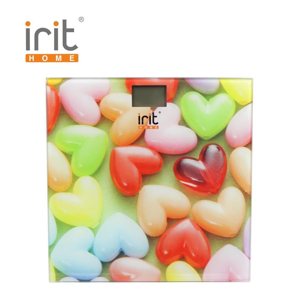 цены на Scale floor Irit IR-7259 Scale floor Scale smart Electronic body Scales for weighing human scales body weight в интернет-магазинах