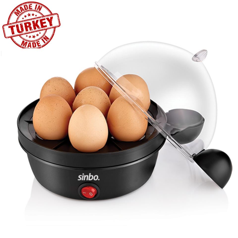 Electric Egg Cooker Boiler Steamer 7 Egg Non Stick Hard Boiled Auto Shut Off
