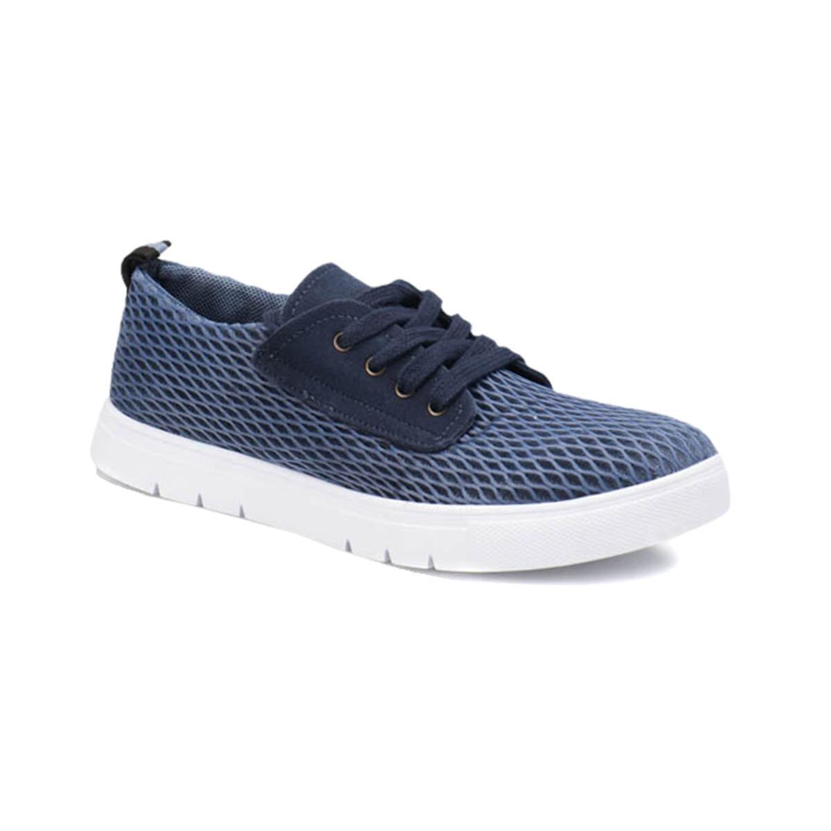 FLO DMS-03 M 1597 Blue Men 'S Sneaker Shoes Panama Club