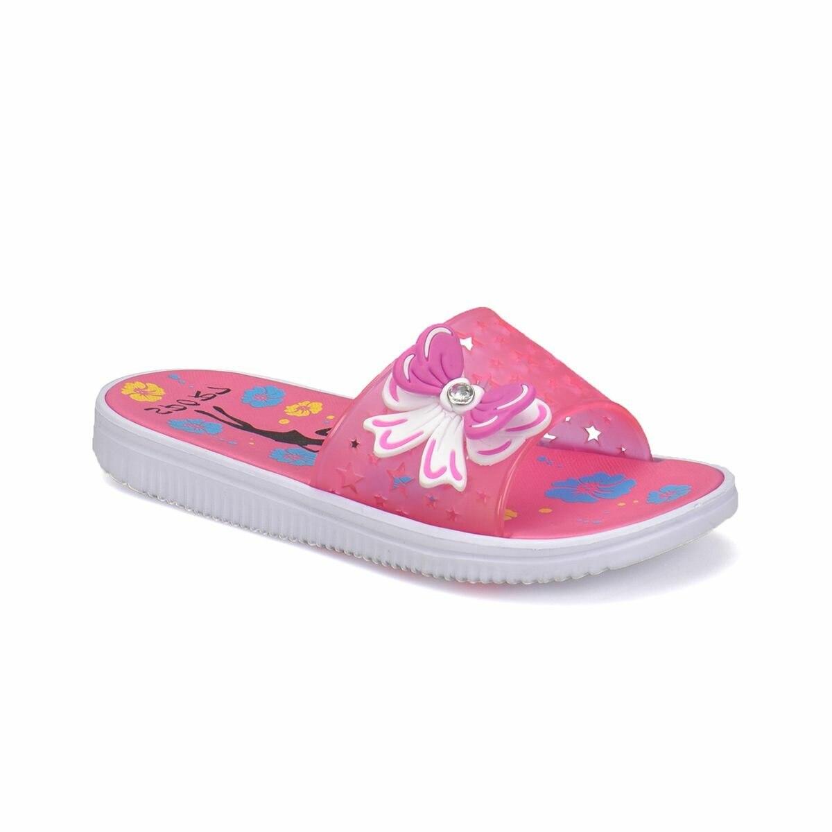 FLO SET Fuchsia Female Child Slippers KINETIX