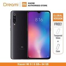 Глобальная версия Xiaomi Mi 9 64 Гб rom 6 Гб ram (абсолютно новая и запечатанная) Mi9 Мобильный смартфон, телефон, смартфон