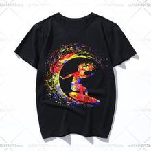 Футболка gicwave для мужчин и женщин забавная хлопковая футболка