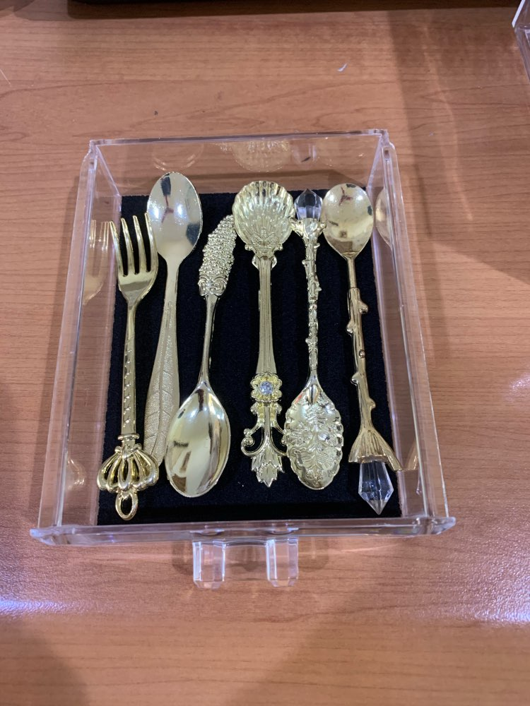 6pcs Vintage Original Spoon Cutlery Set for Kitchen