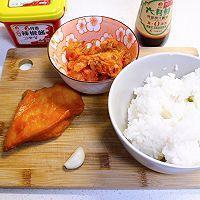 泡菜鸡胸肉炒饭   快手饭菜一锅出的做法图解1