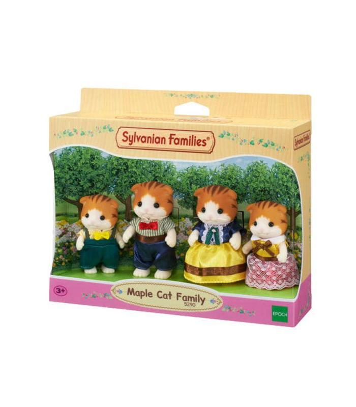 Family Cats Maple SYLV Toy Store