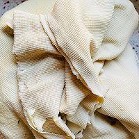 自制豆腐卷(素鸡)豆腐片的做法图解4